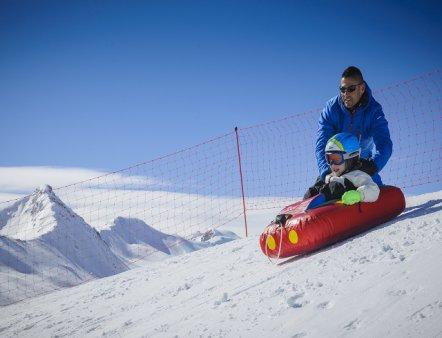Livigno Familien & Kinder RODELSCHLITTENBAHN - Skilift San Rocco