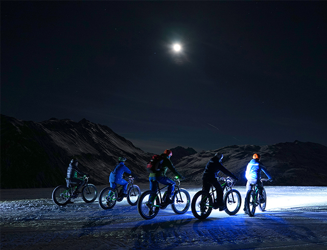 Livigno Familien & Kinder FAT-BIKE NIGHT RIDE – GUIDE MTB