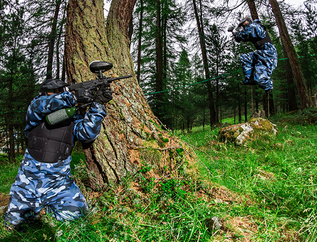 Livigno In Familie PAINTBALL
