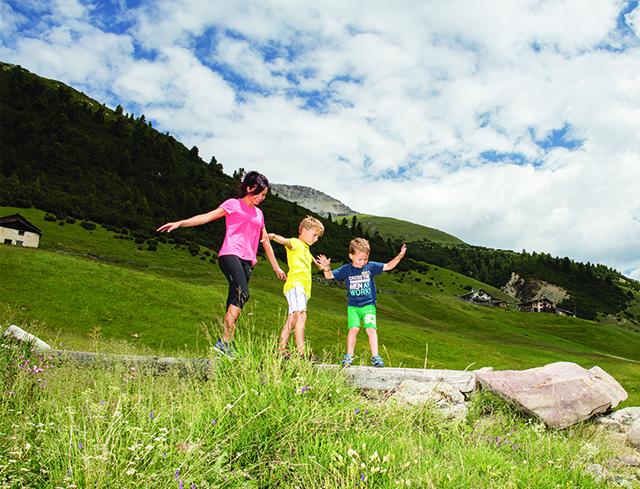 Livigno Familien & Kinder EINFACHE WANDERUNG FÜR ALLE