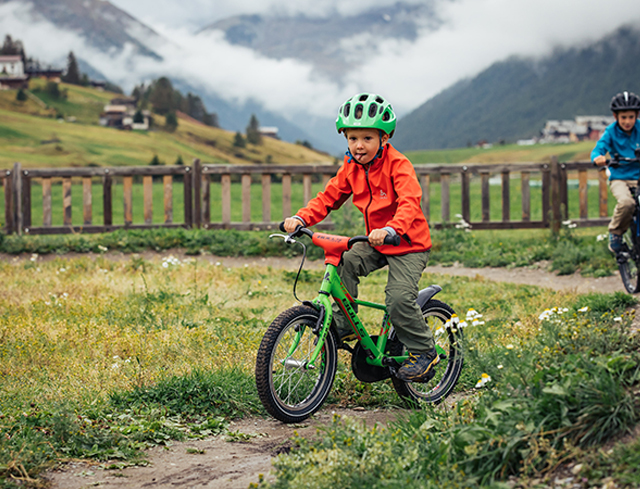 """Livigno In Familie """"FIRST BIKE-RIDE"""" KURS"""