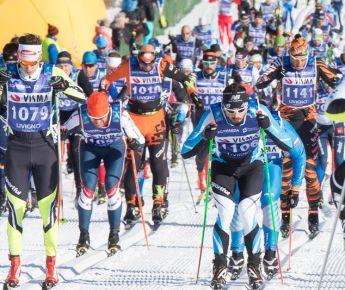 Livigno Sporting Events LIVIGNO, LA SGAMBEDA A TORD ASLE GJERDALEN E BRITTA...