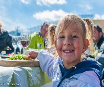 Livigno Family&Kids CAROSELLO - LUNCH AT HIGH ALTITUDE TO REFUGE COSTACCIA