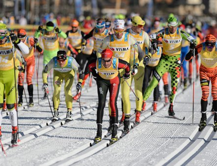 SGAMBEDA - THE NORDIC SKI RACE