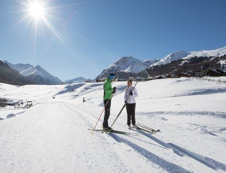 Livigno Family&Kids CROSS-COUNTRY SKIING APPROACH