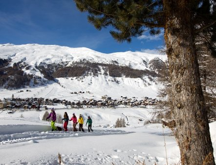 Livigno Family&Kids PACKAGE SNOWSHOES + NORDIC WALKING