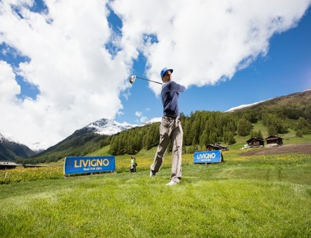 Livigno Family&Kids GOLF TRAINING AREA