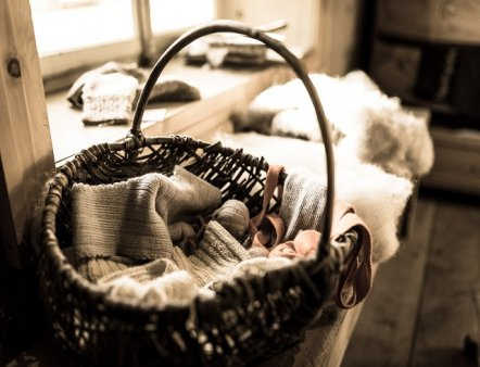 Livigno Family&Kids PLACES TO DISCOVER: LOOK AROUND THE WOOL WORKSHOP