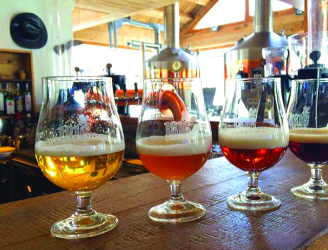 Livigno Family&Kids TOUR OF THE EUROPE HIGHEST BREWERY AND DINNER WITH THE BIERSOMMELIER