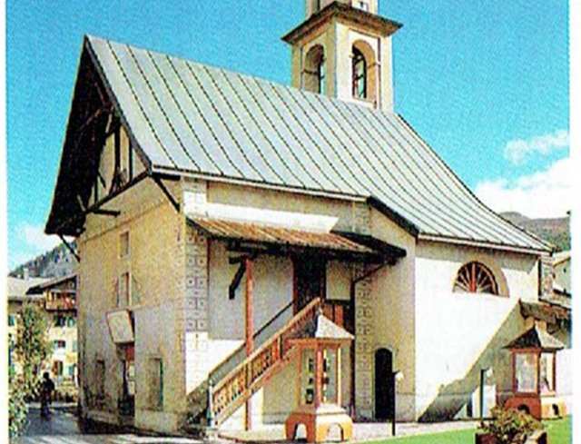 Livigno Family&Kids PLACES TO DISCOVER: A VISIT TO THE CHURCH OF SANT'ANTONIO