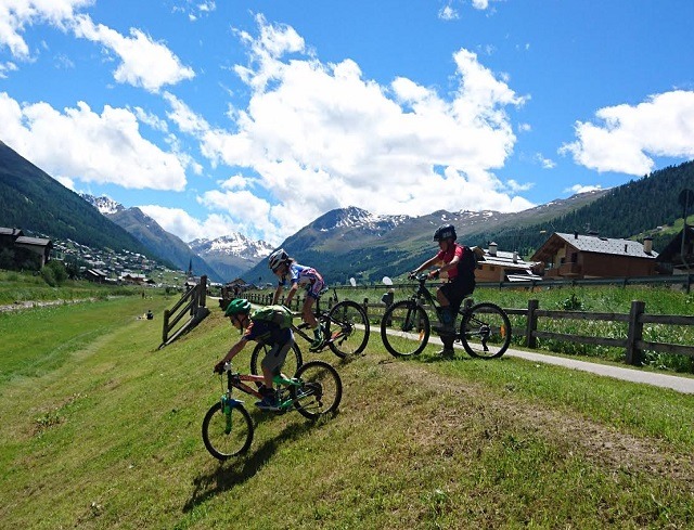 Livigno Family&Kids GROUP MTB COURSE FOR CHILDREN
