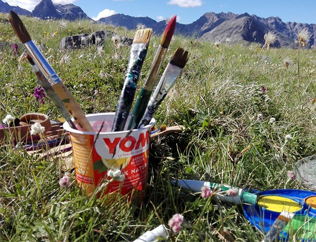 Livigno Family&Kids PAINTING IN NATURE