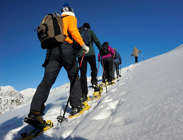 Livigno Family&Kids SNOWSHOES IN STELVIO NATIONAL PARK