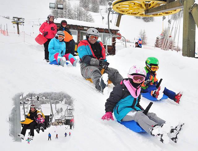 Livigno Family&Kids SLEDING SLOPE - Skilift San Rocco