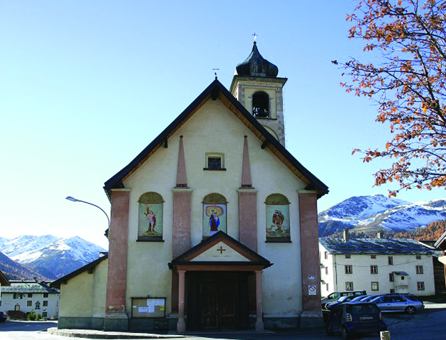 Livigno Family&Kids PLACES TO DISCOVER: TOUR AROUND THE CHURCH OF SAN ROCCO