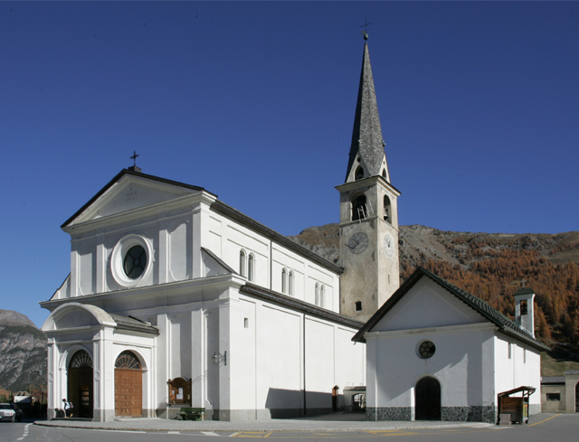 Livigno In Family PLACES TO DISCOVER: TOUR AROUND THE CHURCH OF SANTA MARIA