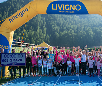 Livigno News 24 HOURS, 600 WOMEN, A GOAL: SUPPORT THE BREAST CANCER...
