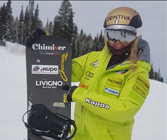 Livigno News THE LIVIGNO TEAM HAS A NEW STAR: MICHELA MOIOLI IS NOW AN...