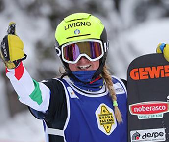 Livigno News SNOWBOARD CROSS WORLD CUP READY TO RESTART: MICHELA...