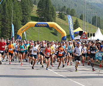 "Livigno News ROCKET PATELLI AND 1200 ATHLETES AT STRALIVIGNO. ""LUCKY""..."