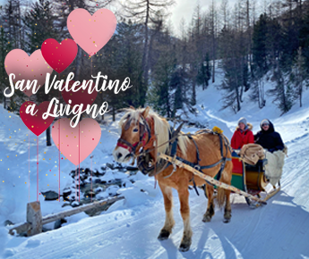 Livigno News THERE'S MUCH MORE LOVE IN THE AIR AT 1816M A.S.L....