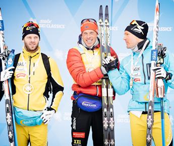 Livigno Sporting Events ANDERS AUKLAND AND SERAINA BONER WIN LA SGAMBEDA