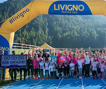 Livigno News 24 ORE, 600 DONNE, UN OBIETTIVO: SOSTENERE LA PREVENZIONE...