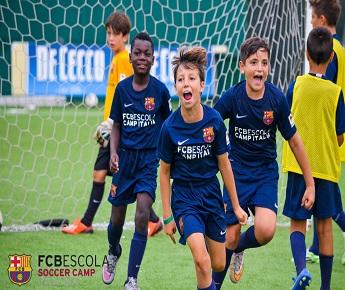 Allenamento calcio FC Barcelona personalizzata