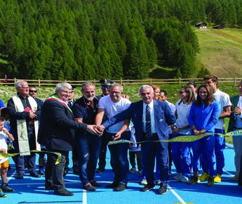 Livigno News LIVIGNO: THE GAMES START NOW LA PISTA DI ATLETICA CORONA...