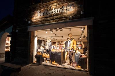 Livigno SHOPPING Timberland Store Livigno