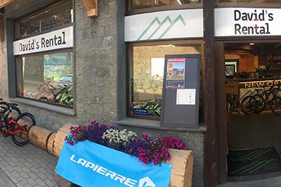 Livigno SHOPPING David's Rental Ski & Bike