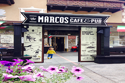 Livigno ESSEN & NACHTLEBEN Marcos Pub