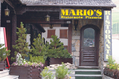 Livigno FOOD&NIGHT Mario's