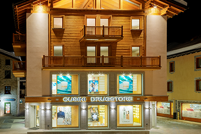 Livigno SHOPPING Cusini Drugstore