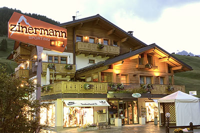 Livigno SHOPPING Zinermann Sporting
