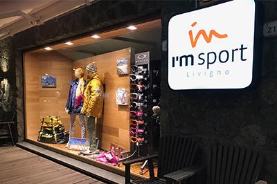 Livigno SHOPPING I'm Sport