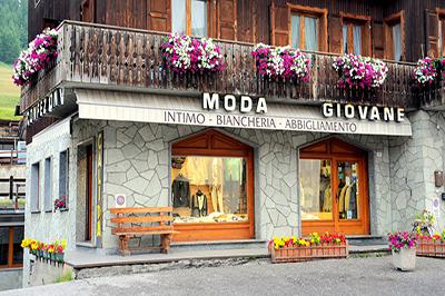 Livigno SHOPPING Moda Giovane